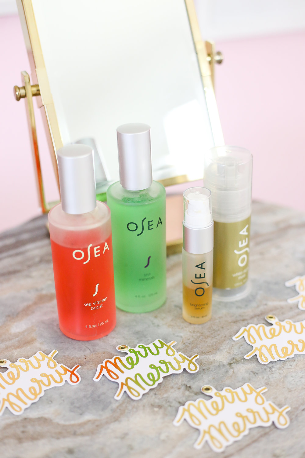 Be Merry & Bright With Osea Skincare- Enchanting Elegance