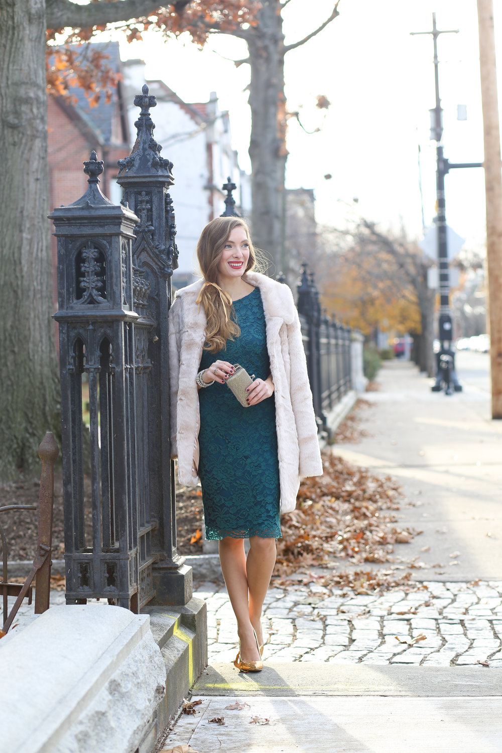 The Green Dress- Enchanting Elegance