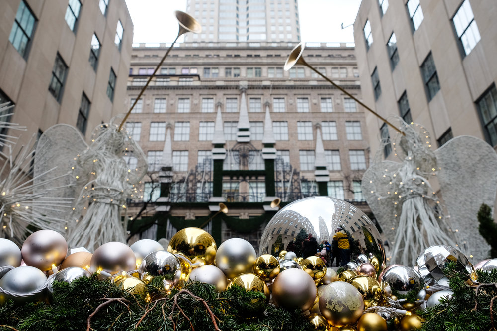 Christmas in New York- Enchanting Elegance