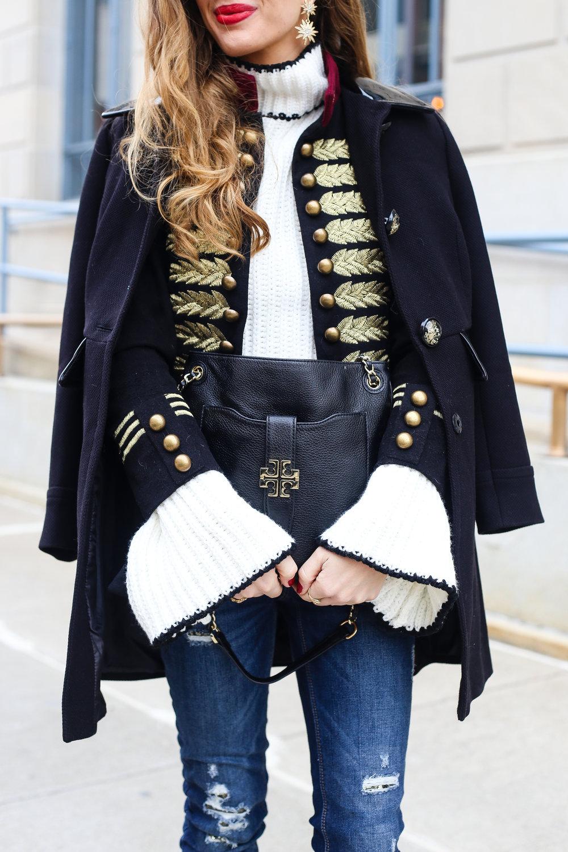 Bow Bell Sleeves- Enchanting Elegance