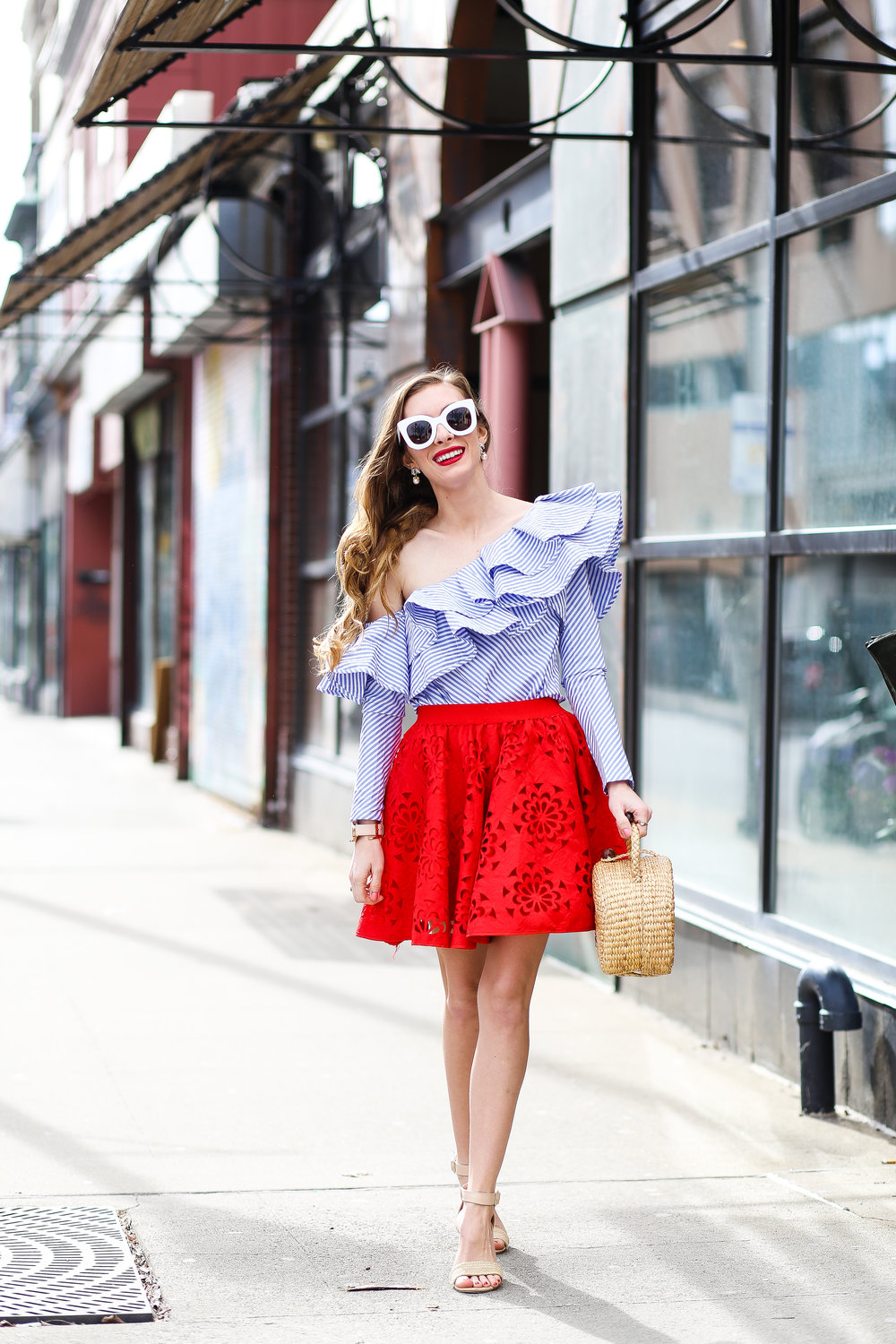Off The Shoulder Ruffles- Enchanting Elegance