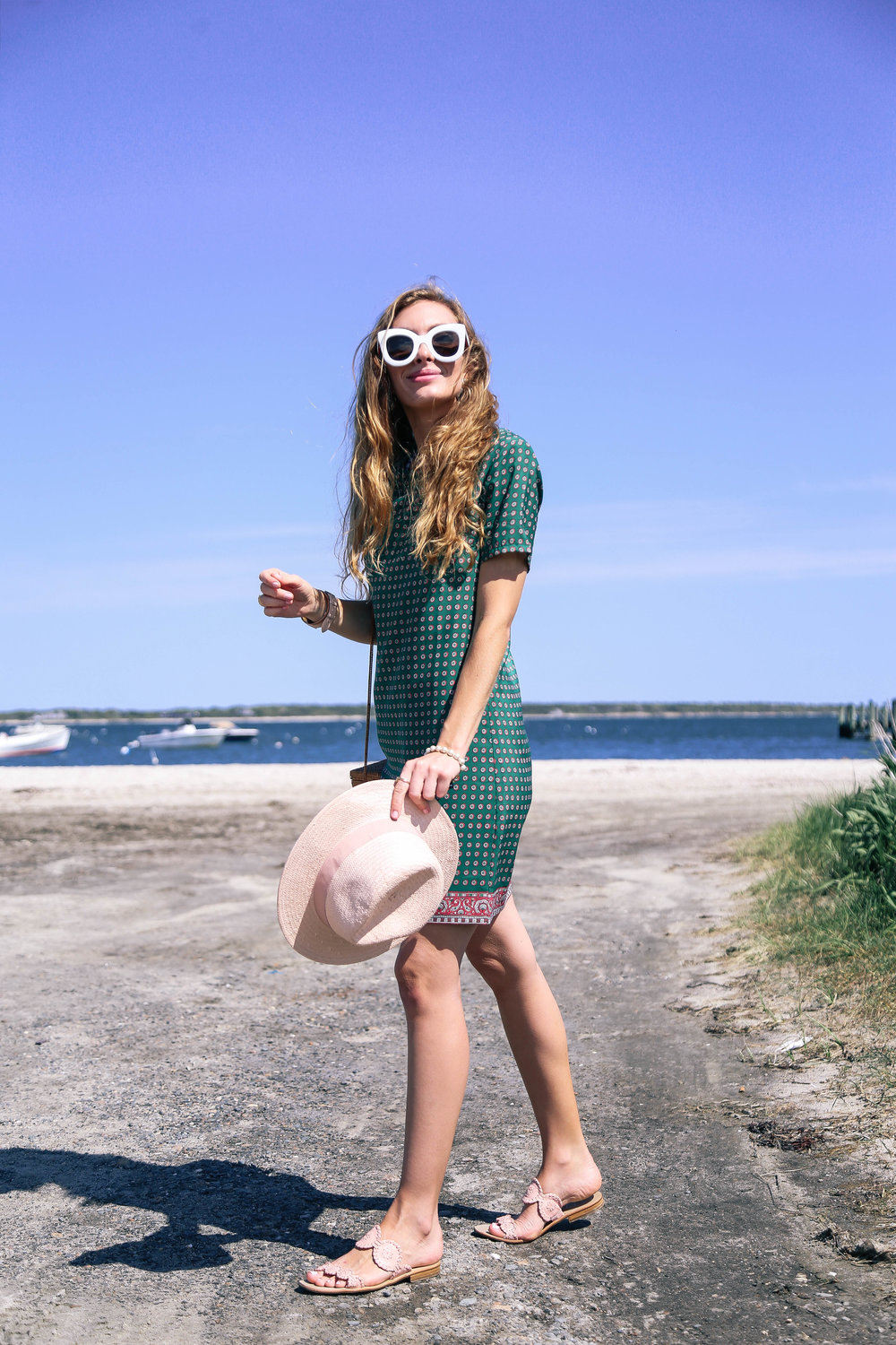 Pink And Green // Go To Dress- Enchanting Elegance