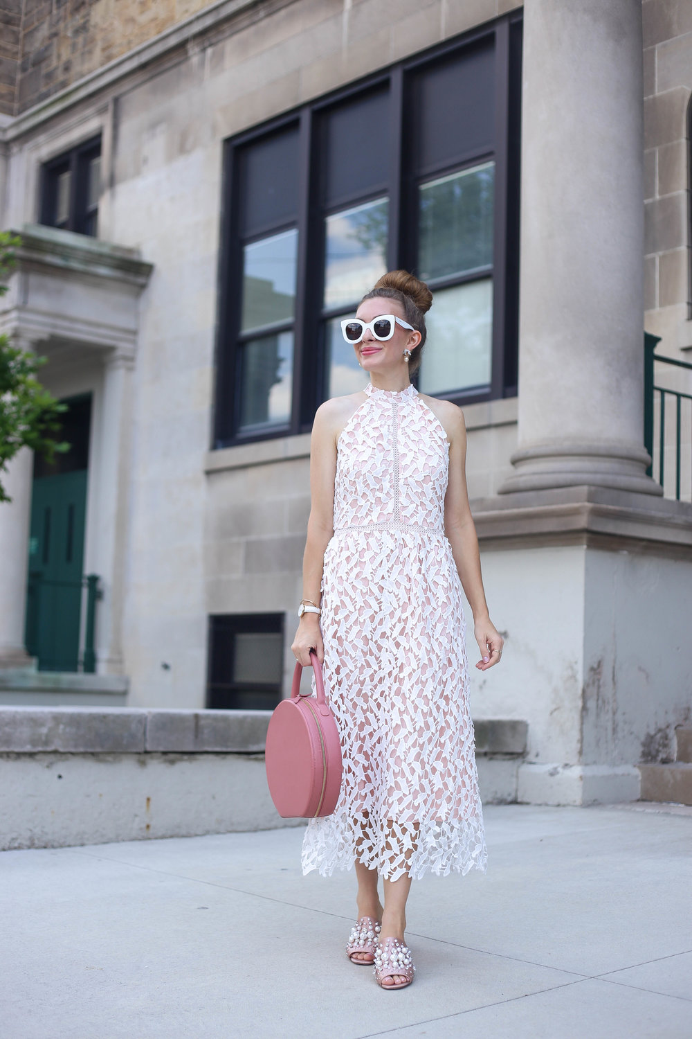 Elegant Crochet Dress- Enchanting Elegance