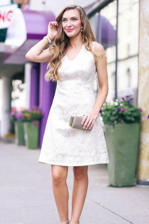 The Little Gold Dress- Enchanting Elegance
