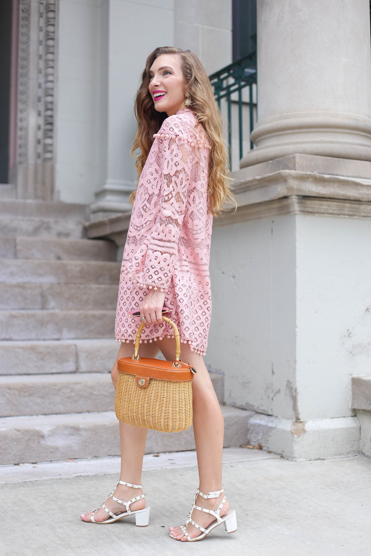 Pink Pom Poms- Enchanting Elegance