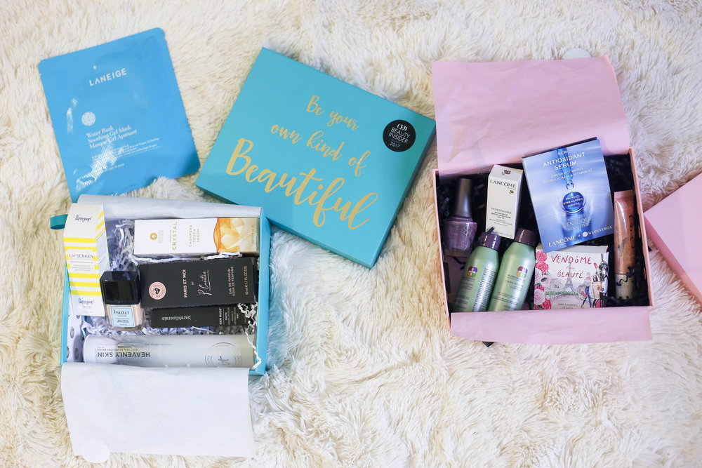 September Glossy Box // Be Your Own Kind Of Beautiful- Enchanting Elegance