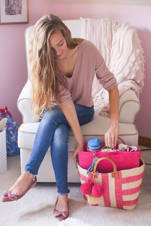Magenta Matters. Tote Savvy. Pink Bag. Diaper Bag.