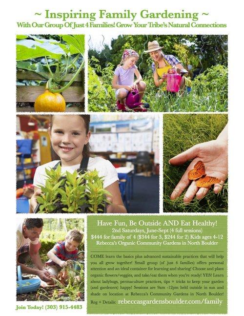 Family Gardening Course — Rebecca\'s Gardens