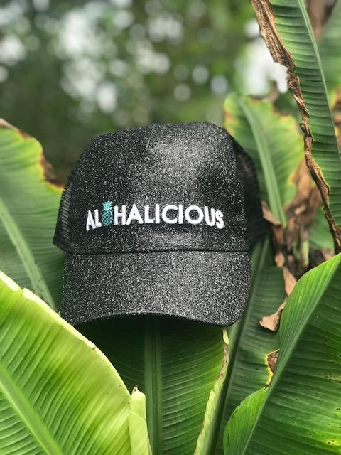 Alohalicious Sparkle in Matte Black — Natural Aloha cd27036f51b0