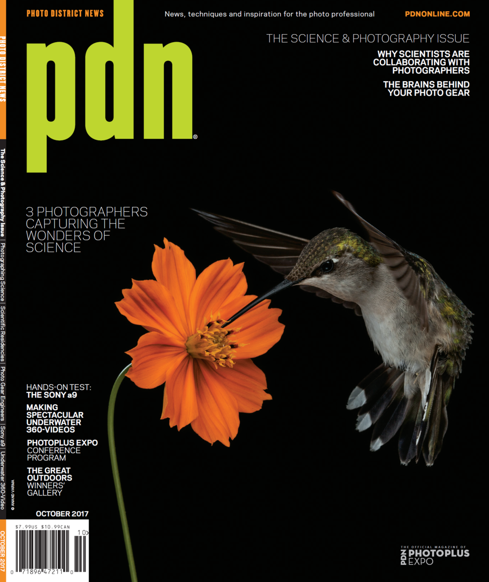 PDN Magazine (October Issue Cover)