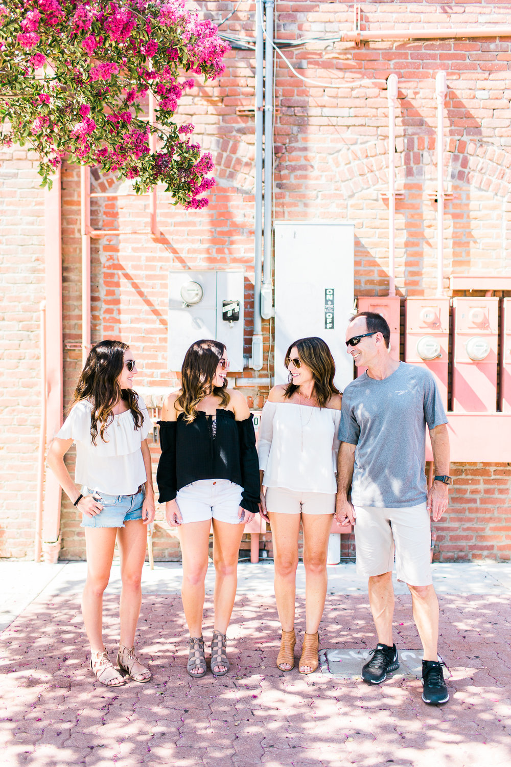 Downtown Fullerton Family Session