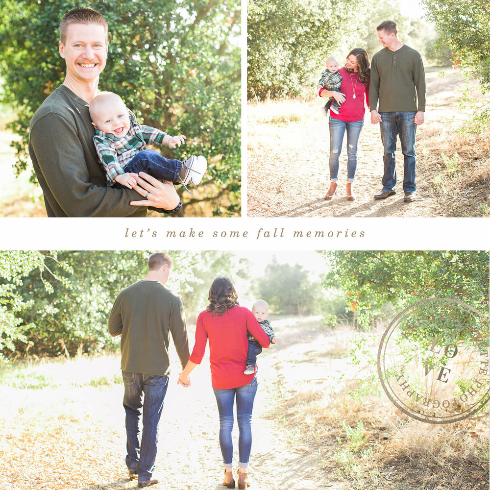 Fall Mini Sessions in Orange County