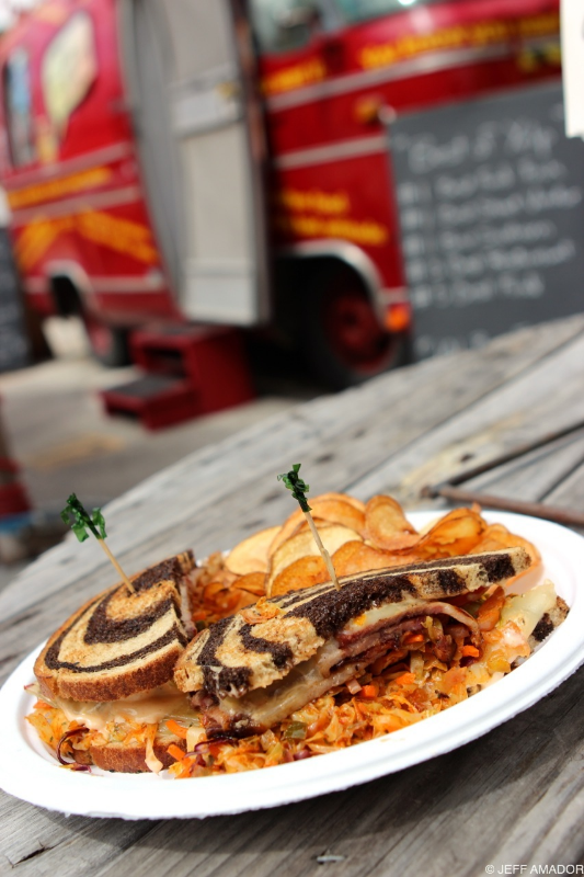 The Southwestern Reuben from Hey! You Gonna Eat or What?