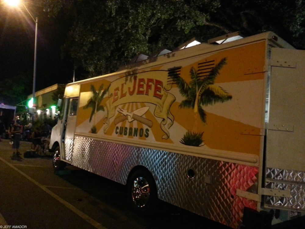 "The ""El Jefe Cubanos"" truck from ""Chef"""