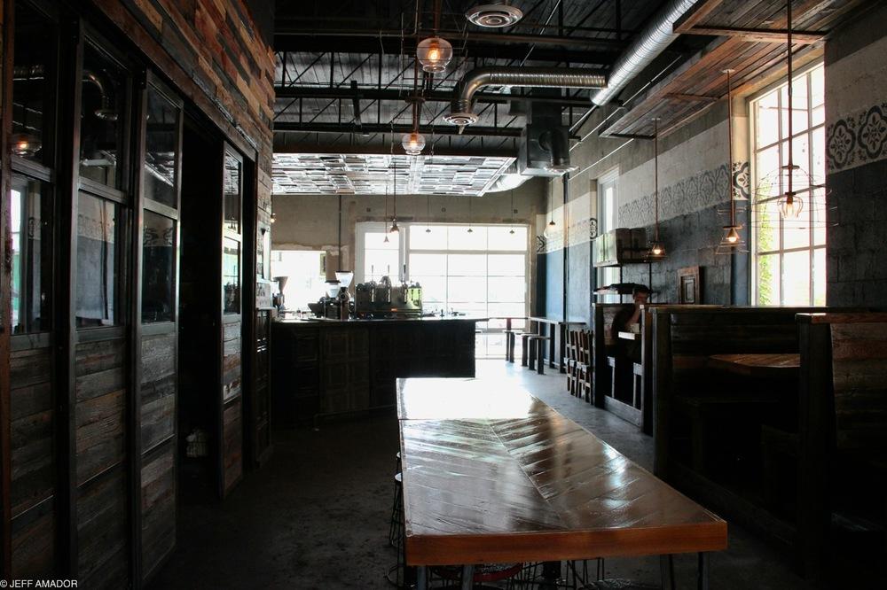 Davis Street Espresso, Oak Cliff, Dallas, TX.