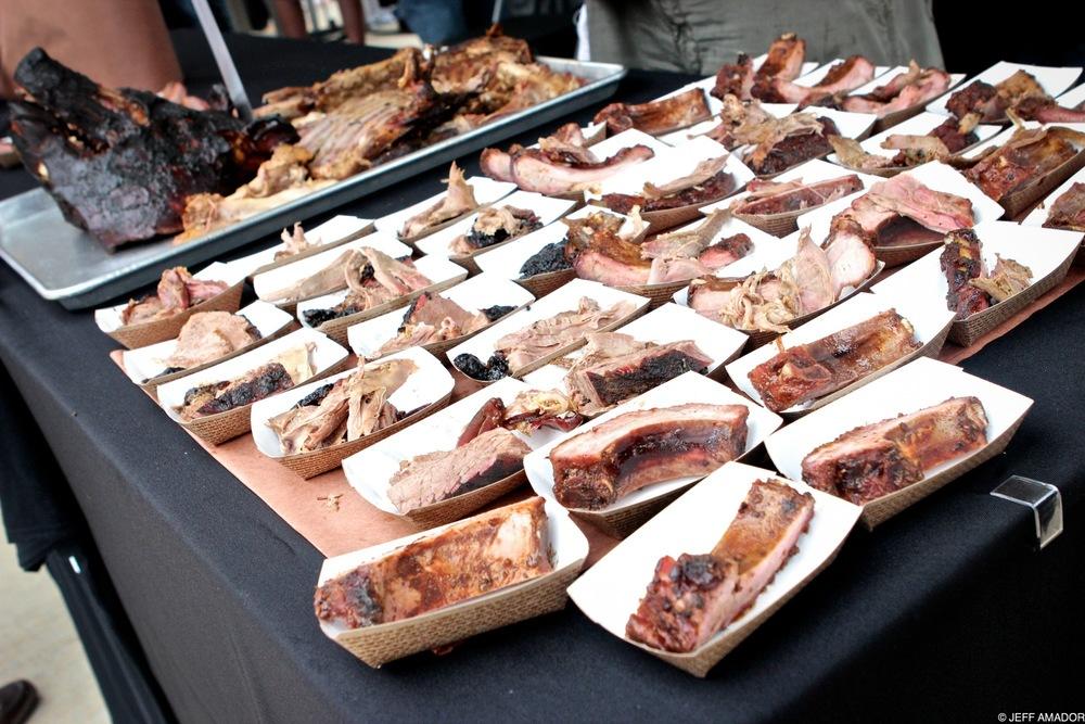 Cabrito and ribs from Lockhart Smokehouse