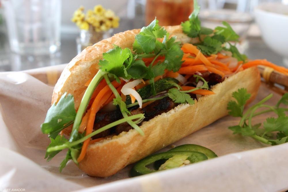 Banh mi sandwich from Ba Mien Bistro