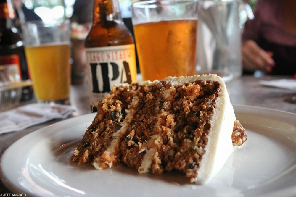 "Carrot cake ""as big as your face"""