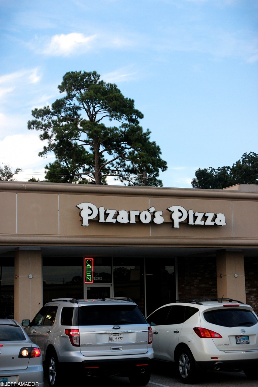 Pizaro's Pizza, Houston, TX