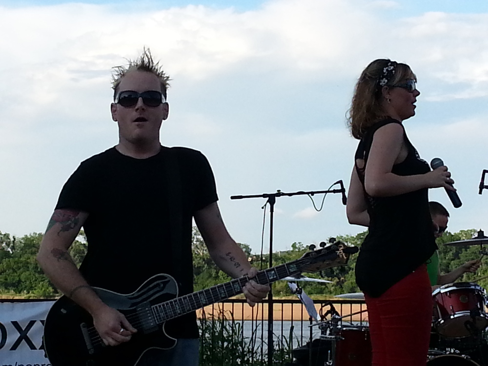 Jarrod Elmore (w/ Sylvie from Pop Roxx)