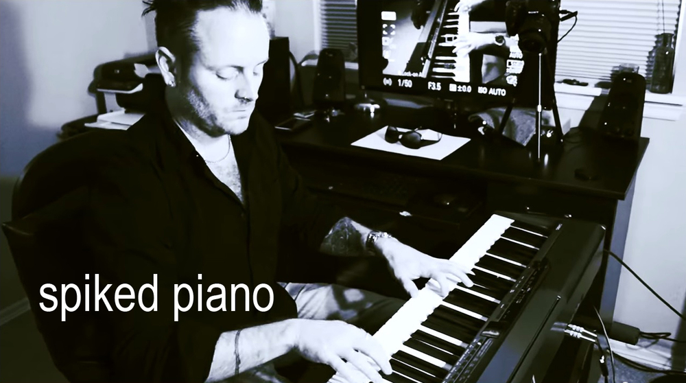 Jarrod Elmore, spiked piano