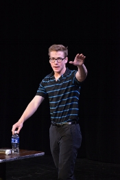 Ben Mathews as BEN (Carnegie Mellon PLAYGROUND Festival 2015, workshop performance)