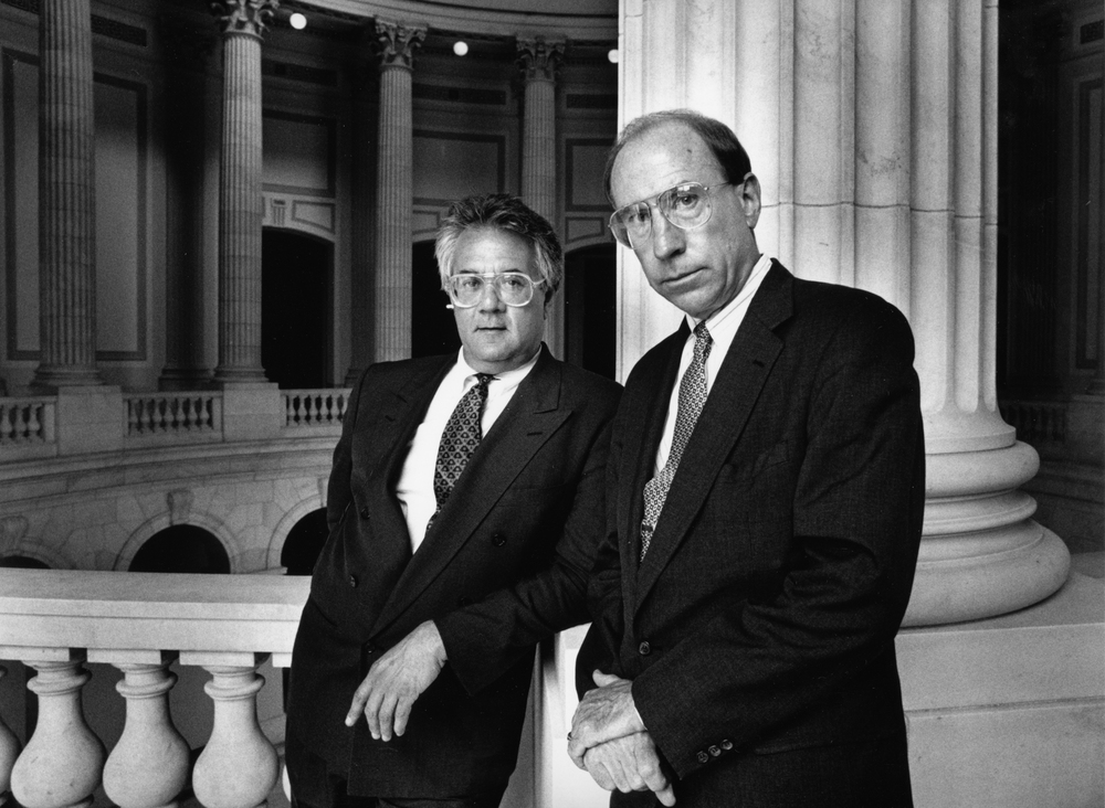In 1993 there were only two openly gay members of Congress: Barney Frank and Gerry Studds.