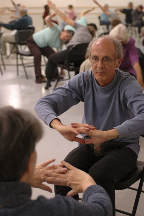 Photo 17 John Heginbotham teaches members of the Brooklyn Parkinson Group at the Mark Morris Dance Center.  Photo by Amber Star Merkens.jpg
