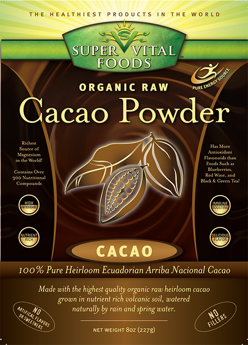 Raw Cacao Powder 8 oz