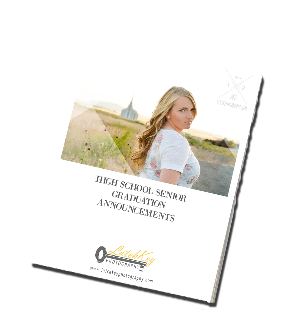 Click  HERE  for our Grad Announcement Catalog which offers styles to compliment just about every personality!