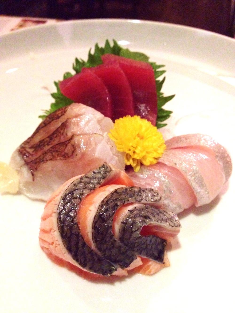 Chef's sashimi selection of the day