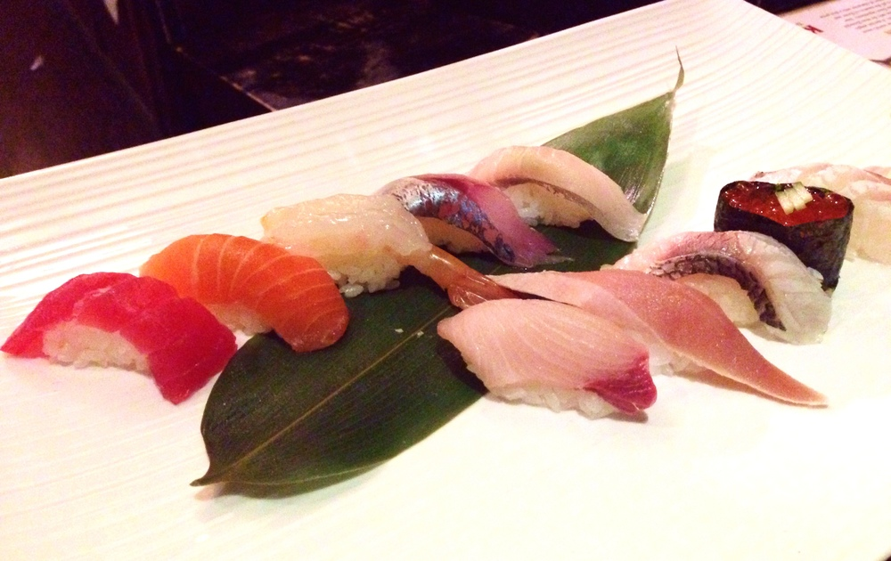 Chef's nigiri selection of the day