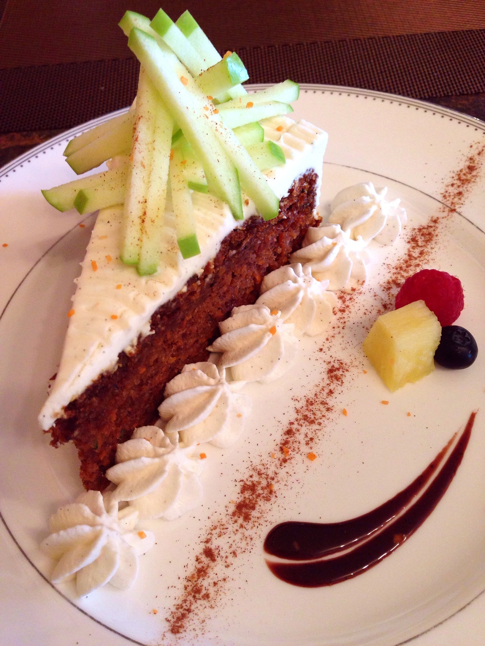 THE amazing carrot cake!