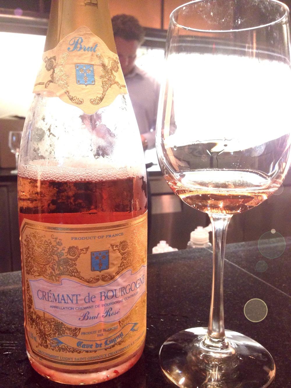 Cremant de Bourgogne - Brut Rose
