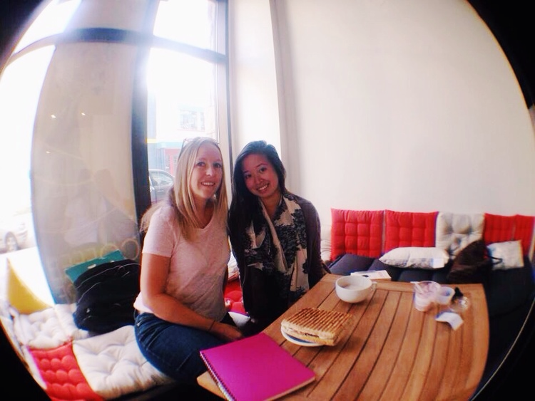 Christy & I  || Photo Credit to: Derek Ho and his awesome fisheye lense