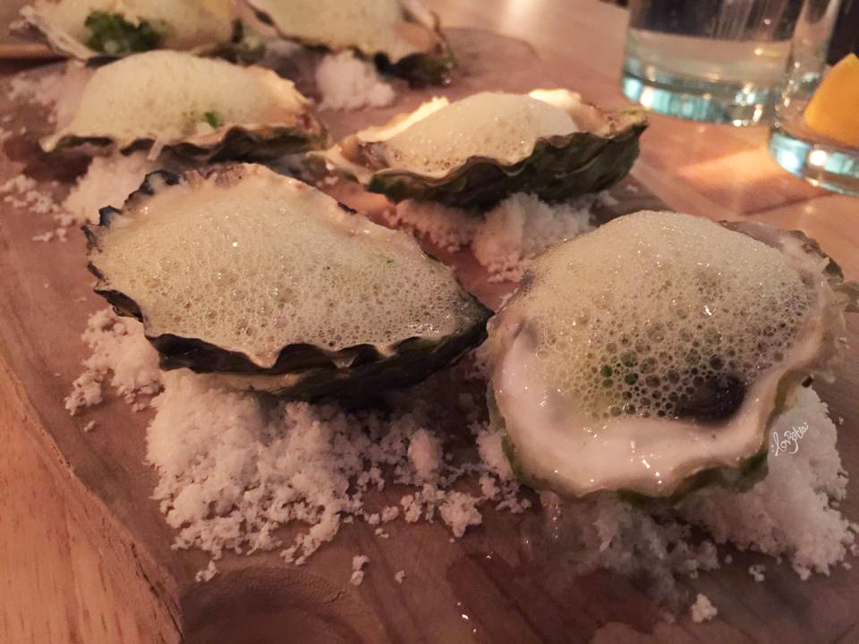 B.C. Oysters* - 16.50