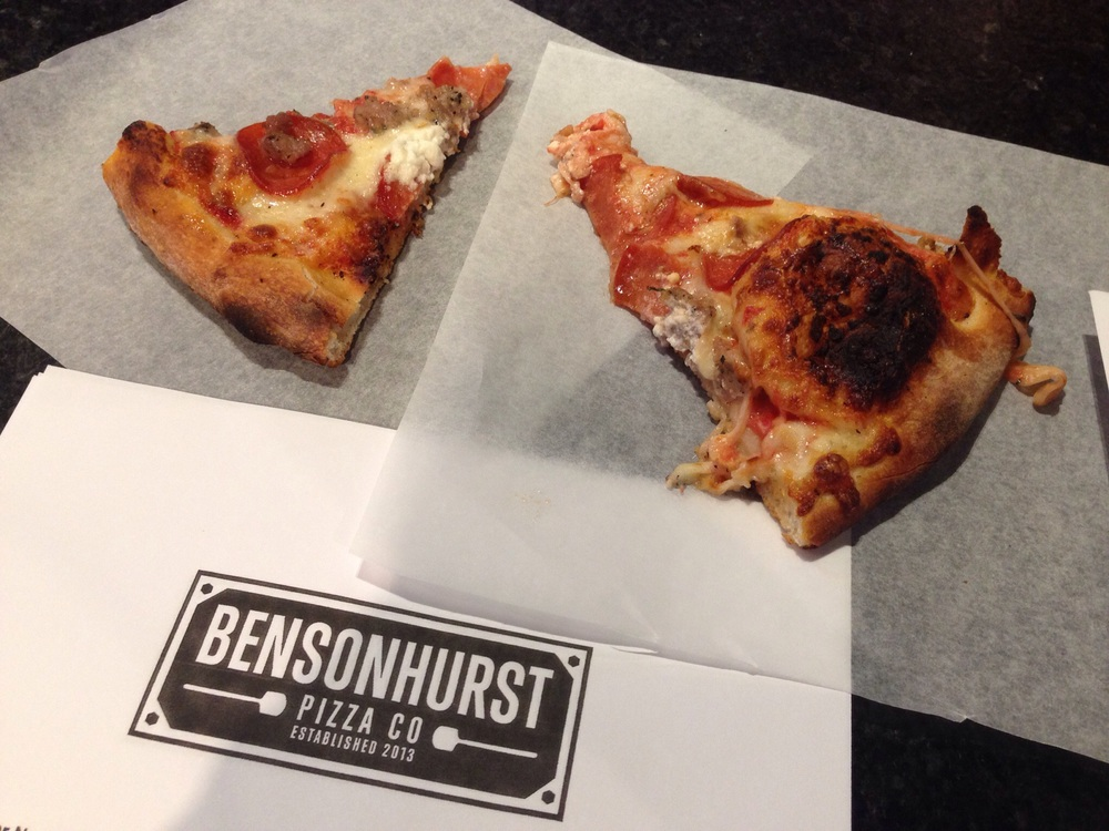 @Bensonhurstyyc - it was a slice! Thank you!