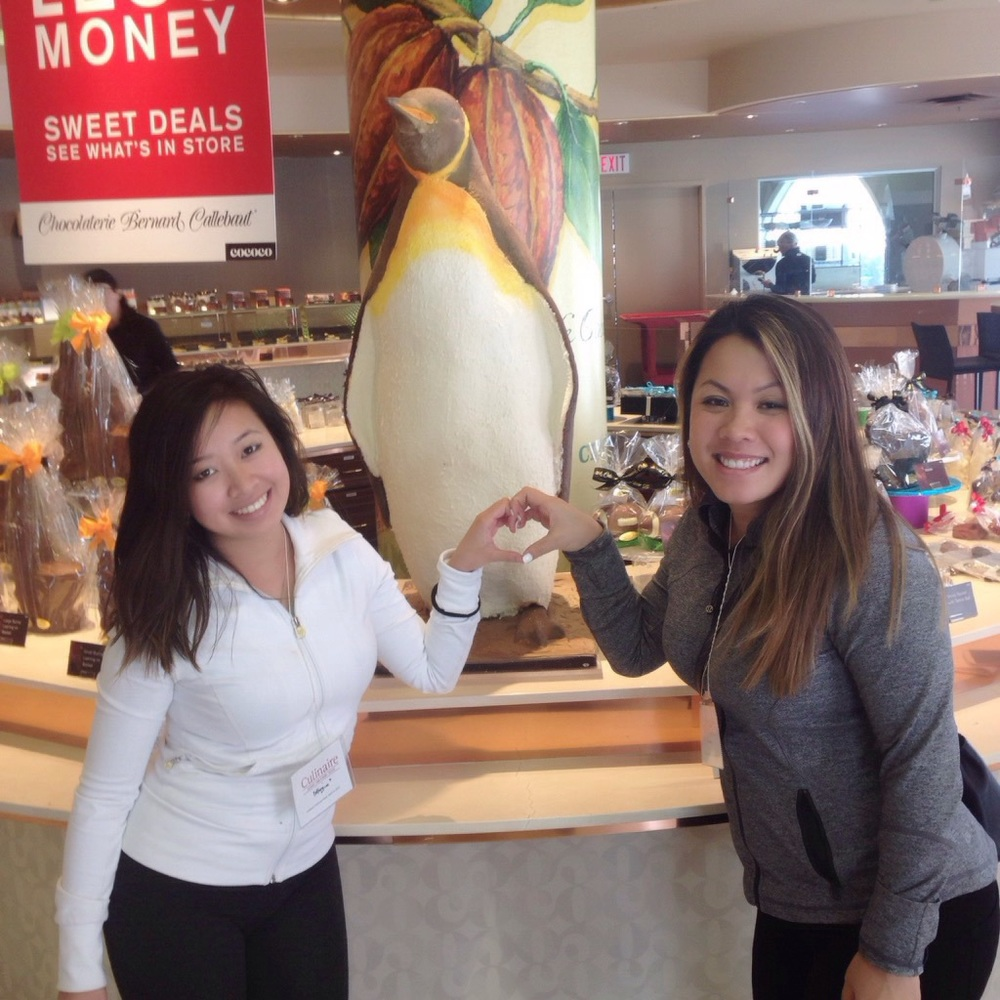 We stopped by and made a new penguin friend named George @ChocBernCal