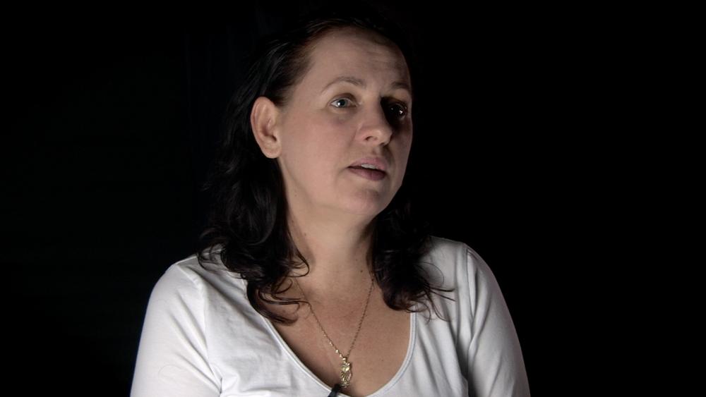 Author Kathleen Denigan interviewed at my home studio in Cairns.