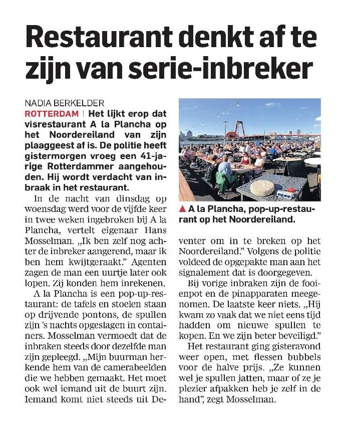 AD Rotterdams Dagblad - 20 augustus 2015