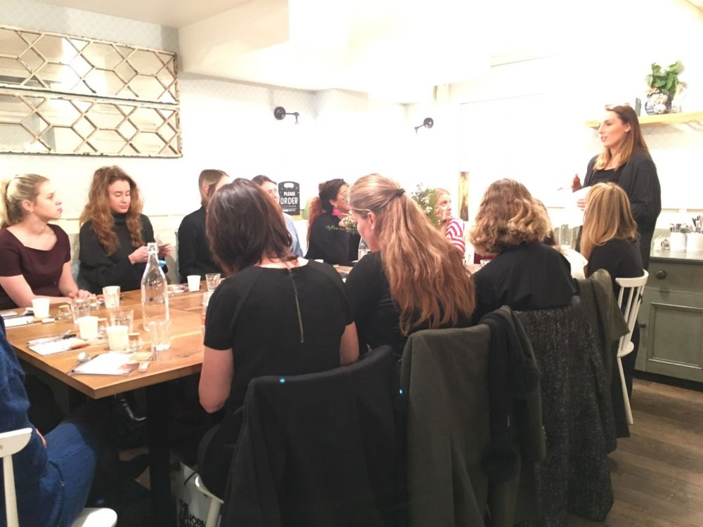 Ayurvedic beauty workshop for Deliciously Ella Deli