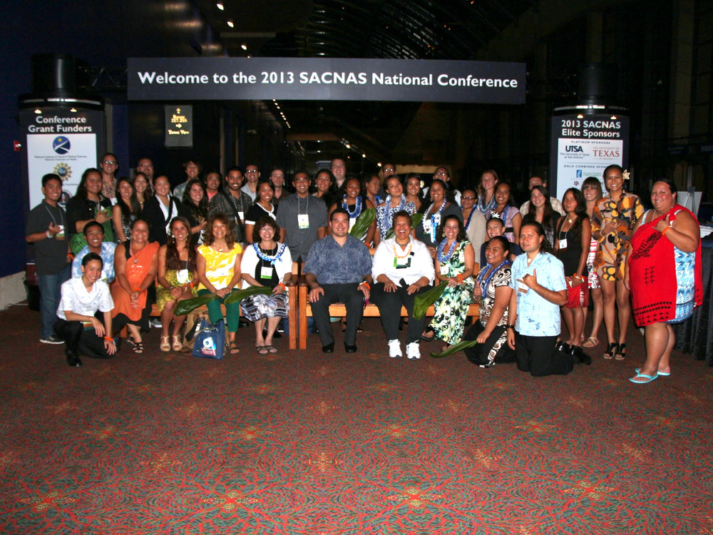 `Ilima SACNAS Members at 2013 SACNAS National Conference in San Antonio, TX