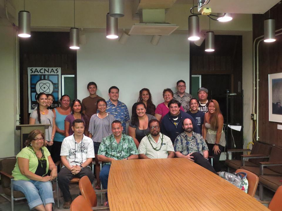 `Ilima SACNAS seminar with Pew Marine Fellows of the Pacific