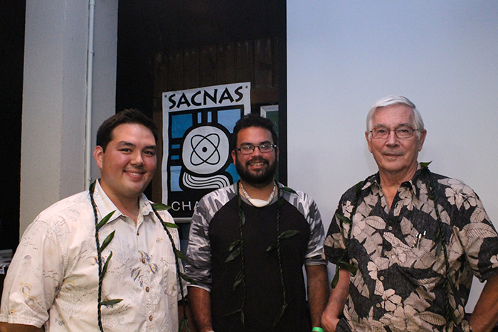 "Austin with fellow presenters at `Ilima Chapter seminar, ""Environmental Issues of the Mariana Islands"""