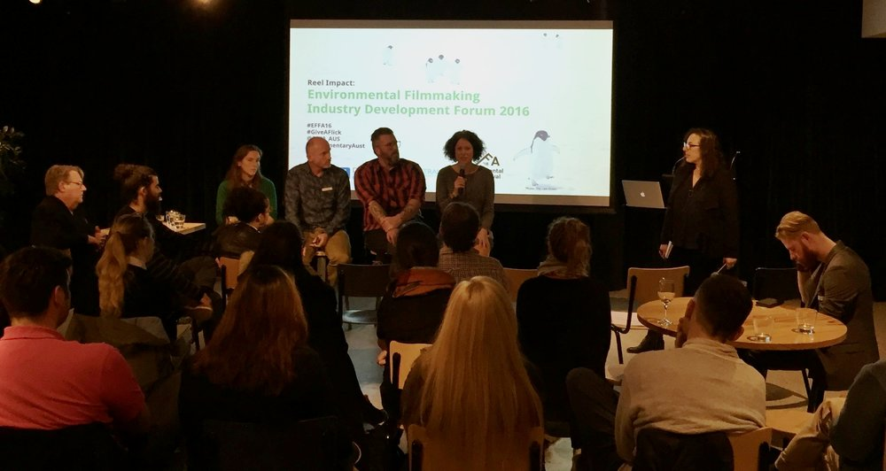 REEL IMPACT: Environmental Film Industry Development Forum in Melbourne was a great success.