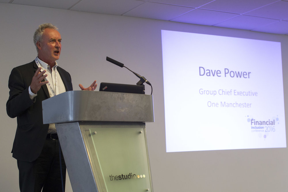 Dave Power opening the conference