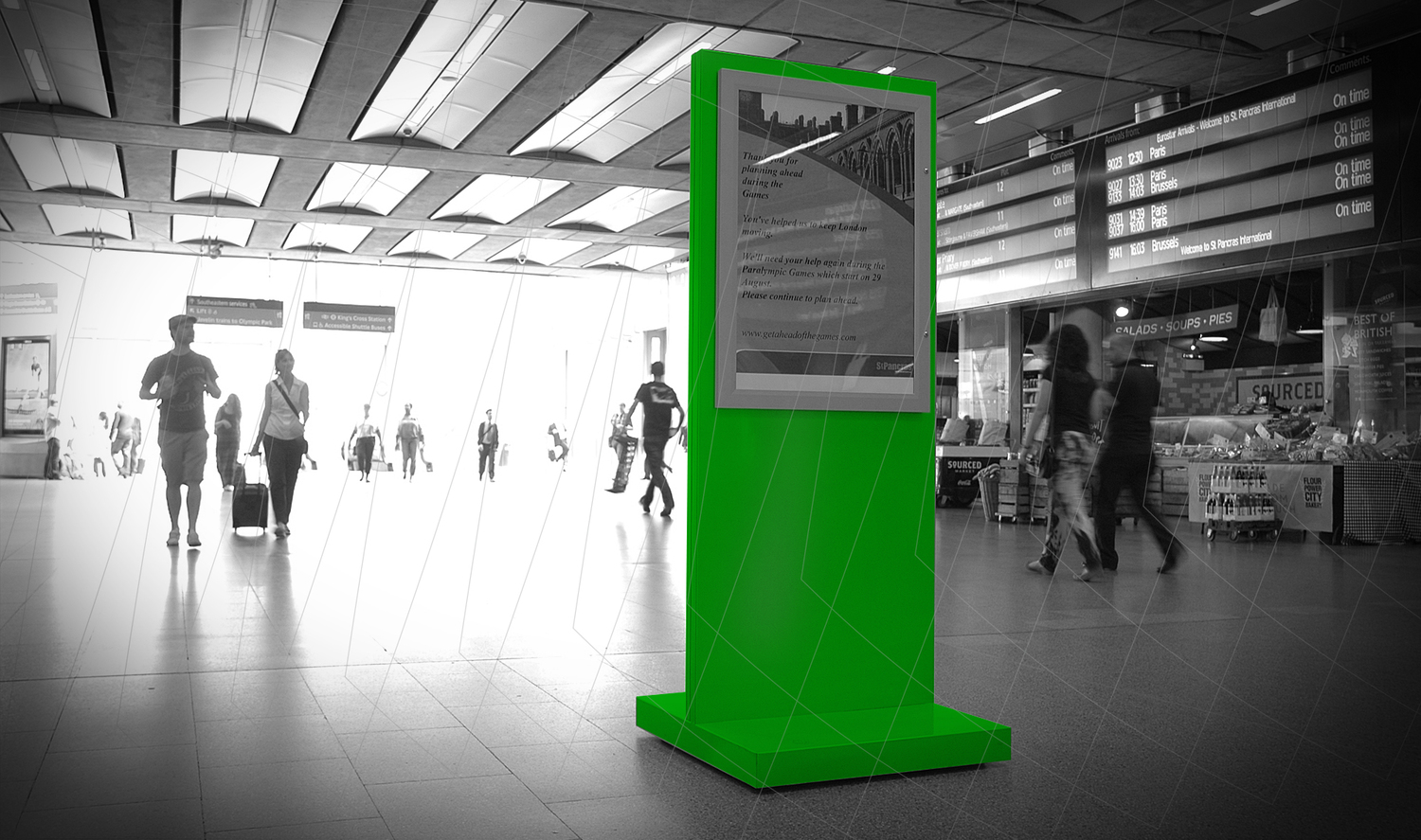 Customised Retail Graphic Display Solutions - Assigns