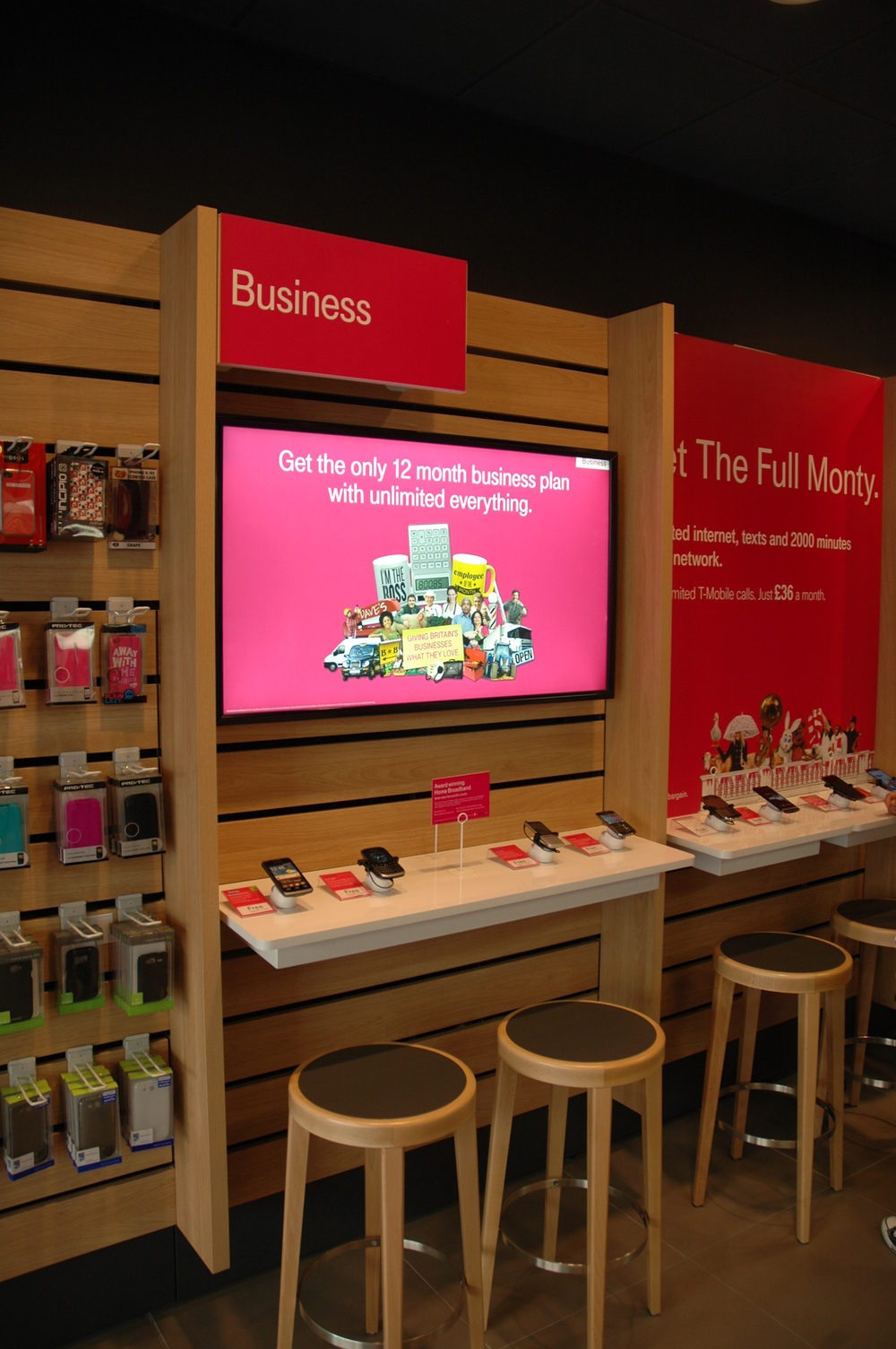 Customised Graphic Display for T-Mobile - Assigns