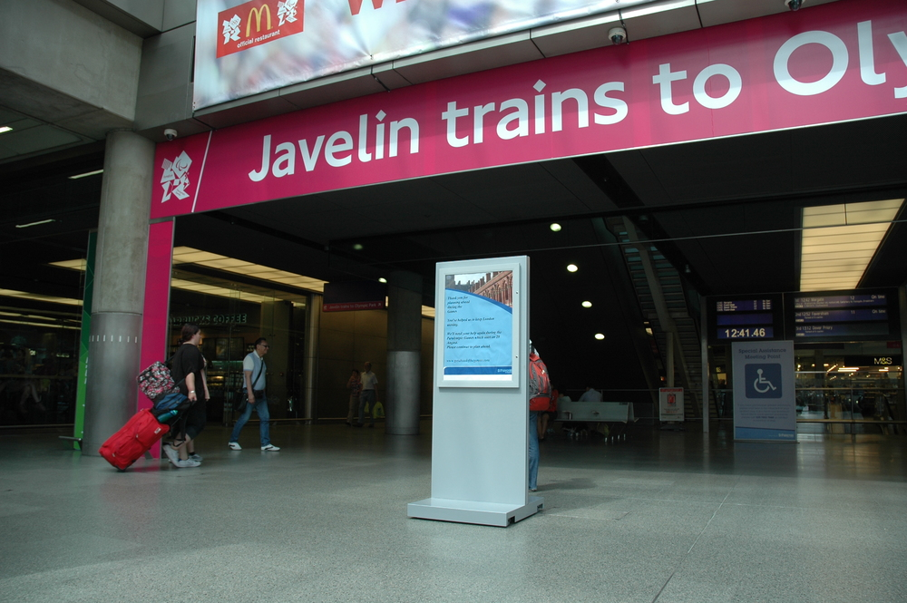 Customised Graphic Display for Network Rail - Assigns
