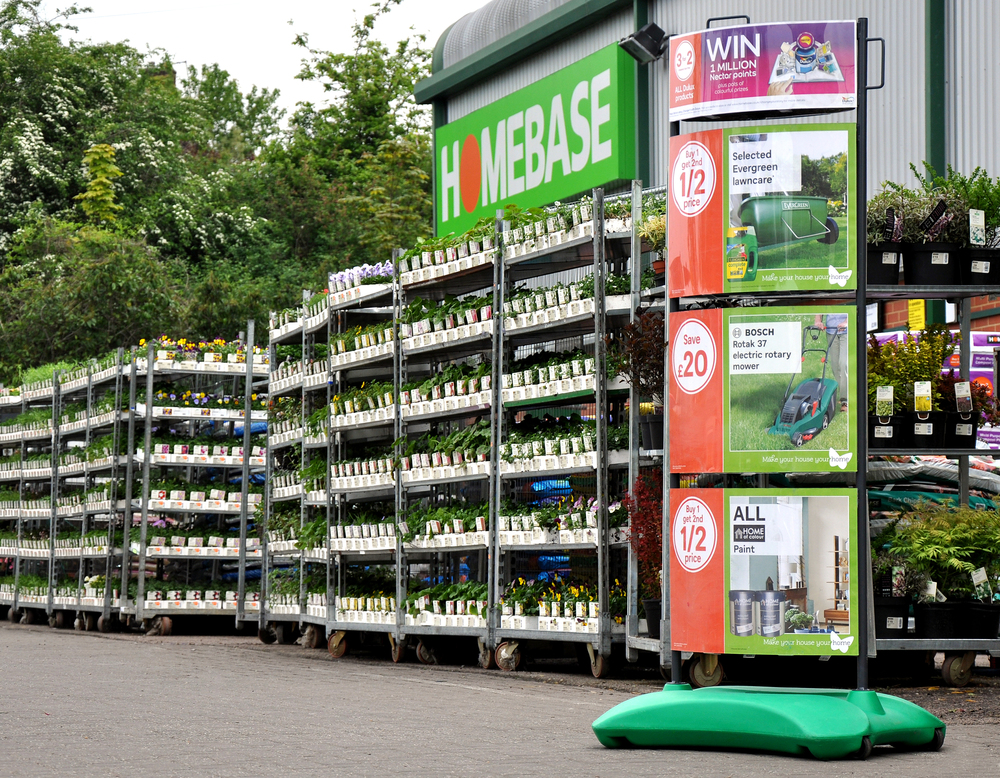 Customised Retail Display for Homebase - Assigns